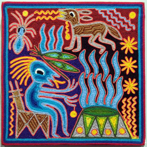 Indijska umetnost Huichol_benitez28