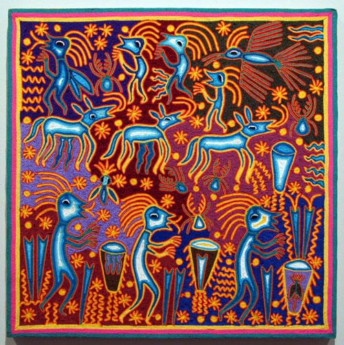Indijska umetnost Huichol_benitez31