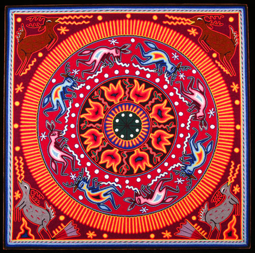 Indijska umetnost - Page 2 Huichol_lara1