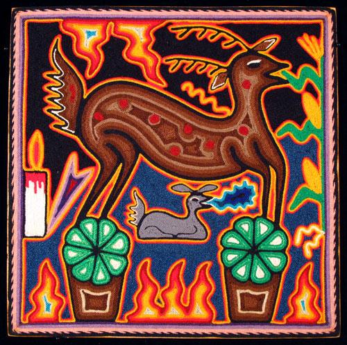 Indijska umetnost Huichol_lara2