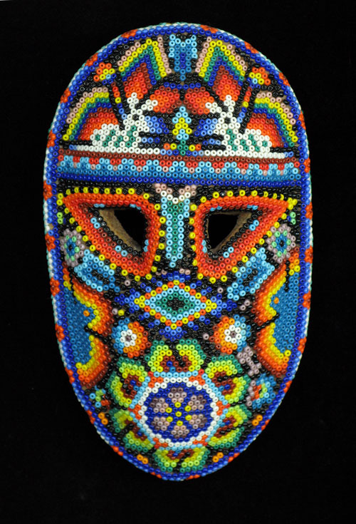 Indigo arts gallery huichol indian masks from mexico for The mask photos gallery
