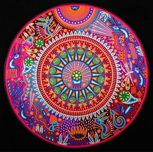 Indijska umetnost Huichol_maximino11