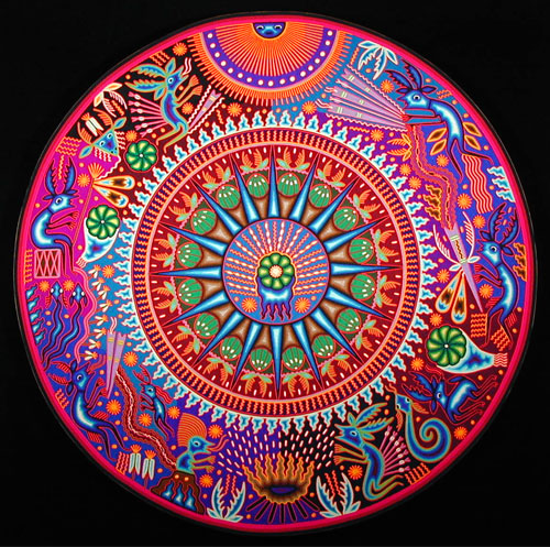 Indigo Arts Gallery Huichol Indian Art 1