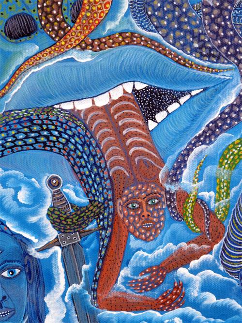 Indigo Arts Gallery Haitian Art Frantz Zephirin