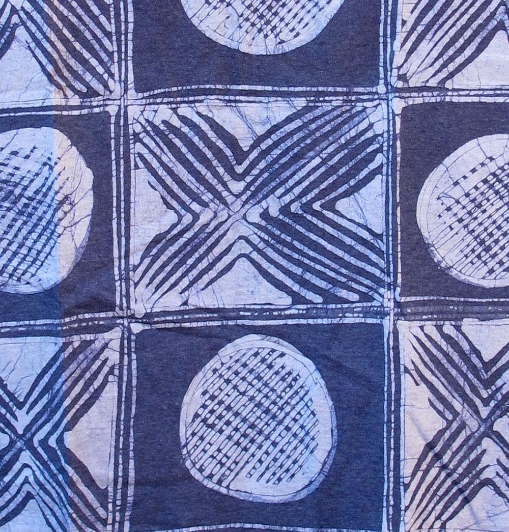 Shirt design in nigeria - Batik And Indigo Tie Dye T Shirts By Gasali Adeyemo Of Nigeria