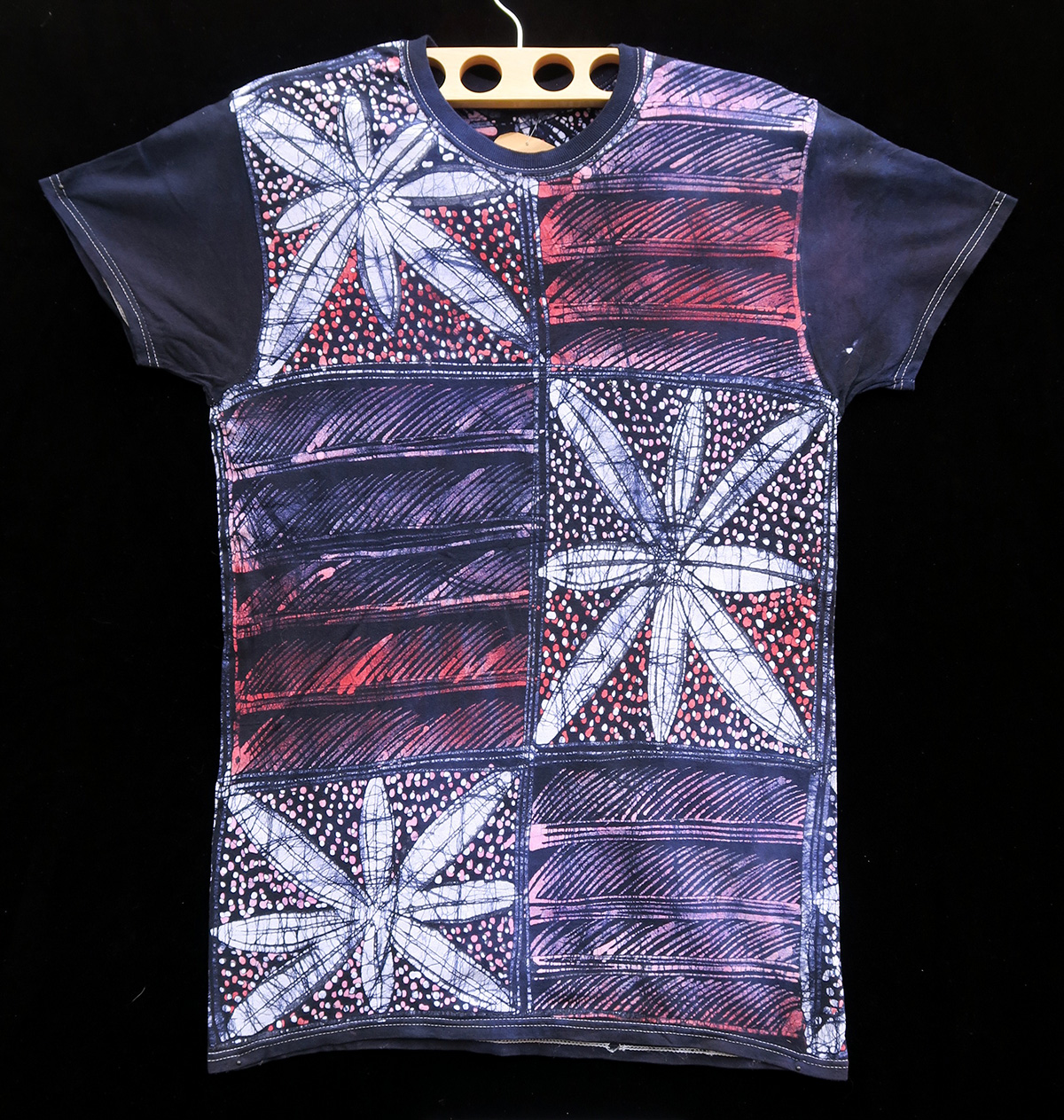 Batik T-shirt By Gasali Adeyemo - Small