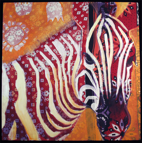 Red Zebra Indigo Arts