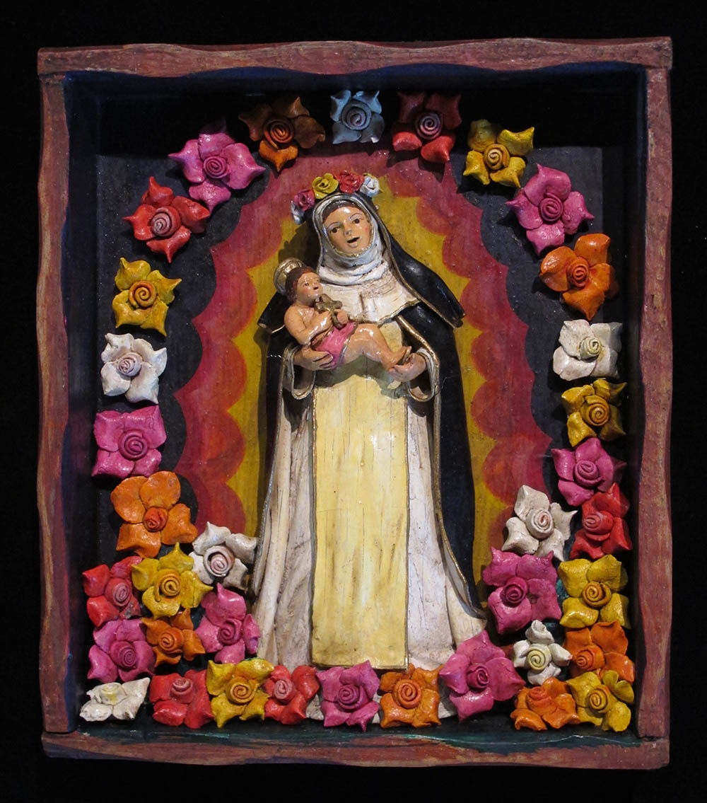 Santa Rosa de Lima - Retablo Frame (without doors ...