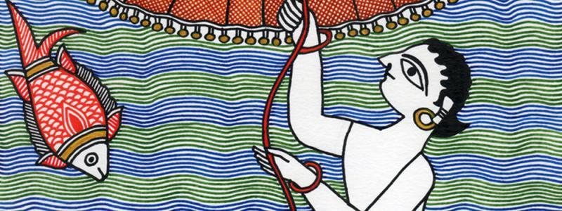 Mahalaxmi: A Mithila Artist