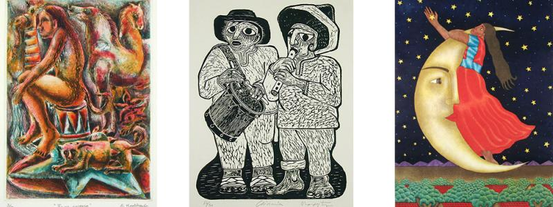 Prints from Oaxaca, Mexico
