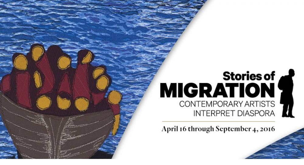 """Stories of Migration: Contemporary Artists Interpret Diaspora"""