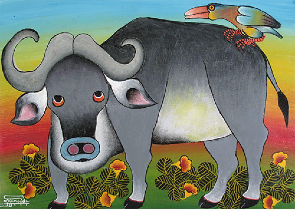 Edward Saidi Tingatinga Paintings For Sale