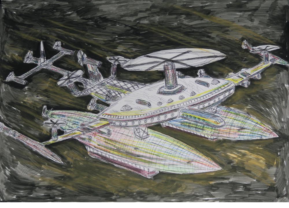 Spacecraft - Damian Valdes Dilla (Cuba)