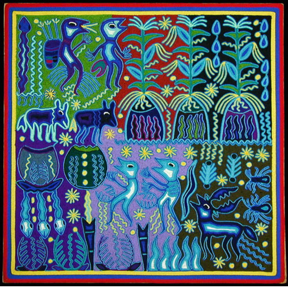 Huichol Yarn Painting Artists