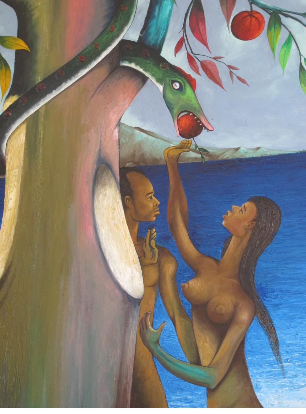 Adam and Eve by Gourgue