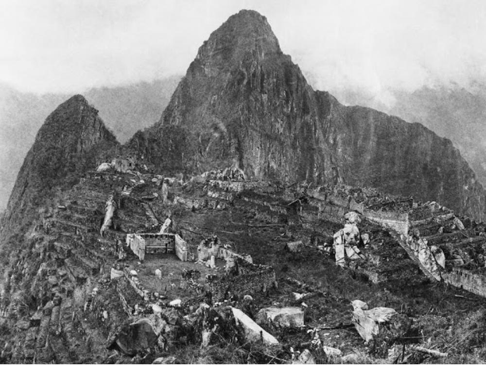 Machu Picchu, 1934.