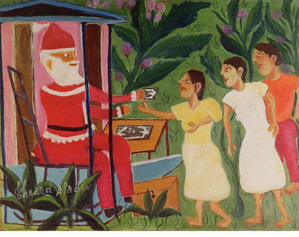 """Pere Noel"" - Theard Aladin, Haiti, 1991"