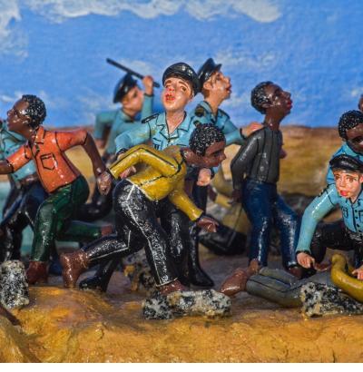 Haitian Immigrants- Nicario Jimenez (Peru), courtesy of the artist.
