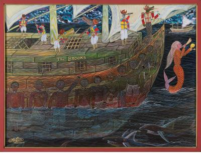The Slave Ship Brooks - Frantz Zephirin (Haiti, 2007), courtesy of Marcus Rediker