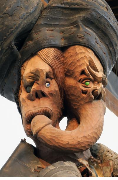 Two faces - Jean Herard Celeur
