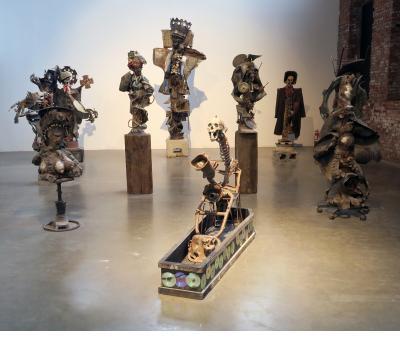 Sculptures by André Eugene