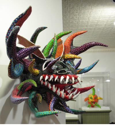 Caribbean Carnival - Dragon mask by Felipe Rangel (Puerto Rico)