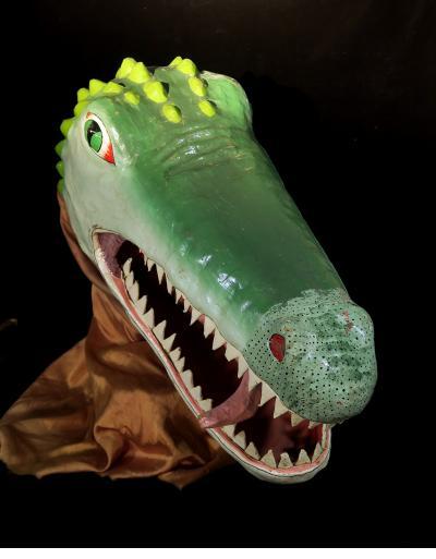 Crocodile Carnival Mask