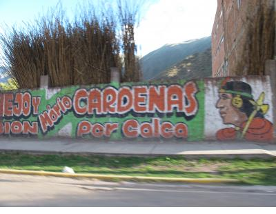 and in the countryside - Sacred Valley.