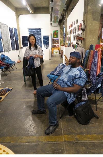 Gasali Adeyemo at Indigo Arts
