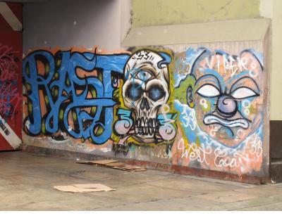 Graffiti inBarranco.