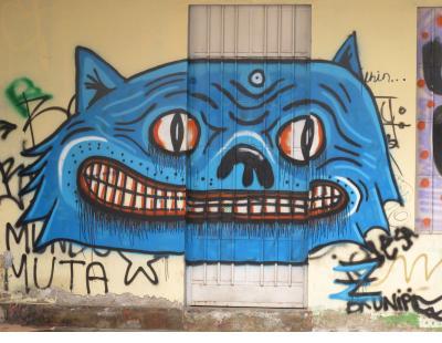 Gato Azul in Barranco neighborhood of Lima.