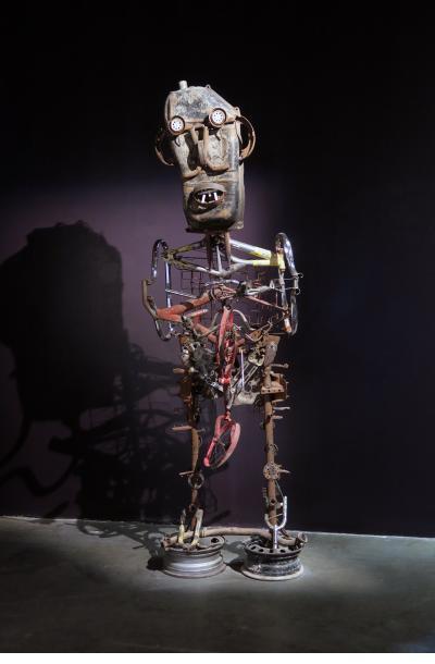 Giant figure - Jean Claude Saintilus