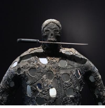 Ogou Bizango figure - Lherisson Dubreus