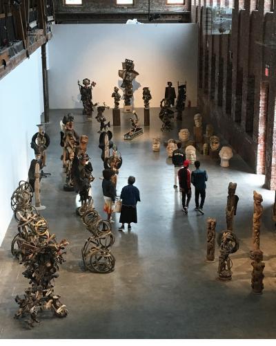 Potoprens.  Main Gallery.