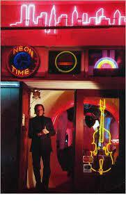 Rudi Stern at Let There Be Neon