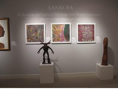 Sankofa Exhibit at Wheaton Arts