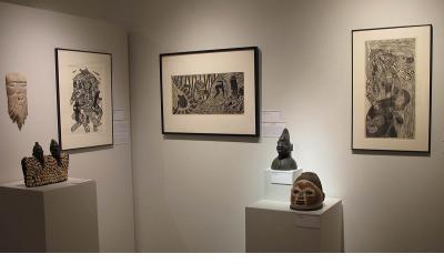 Sankofa - Yoruba Gelede Masks and Ibeji Figures