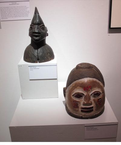 Sankofa - Two Yoruba Gelede Masks