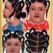 Gentille Coiffure-Tresse - Mini Hair Sign
