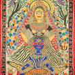 Shiva - Mithila painting