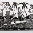 Estoria de Pescador (black and white) - Severino Borges