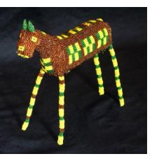 Beaded Animals and Dolls from Capetown, South Africa