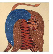 Gond Paintings from Madhya Pradesh State