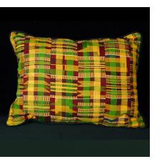 Kente Cloth Pillows from Ghana