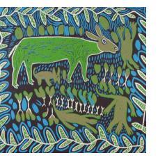 Khoi-San Paintings & Prints from Botswana
