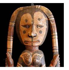 Sculpture and Masks from New Guinea