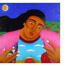 Paintings and Collages from Mexico - Featuring Oaxaca