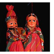 Rajastani Puppets from India
