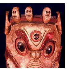 Masks from Tibet