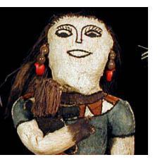 Tikuna Indian Tree-bark Dolls